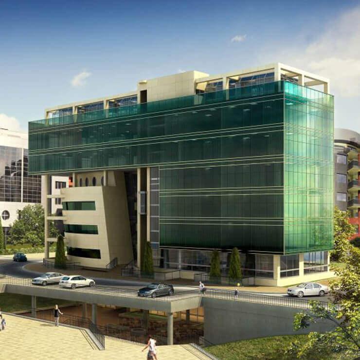 Офис сграда и медицински център - 1