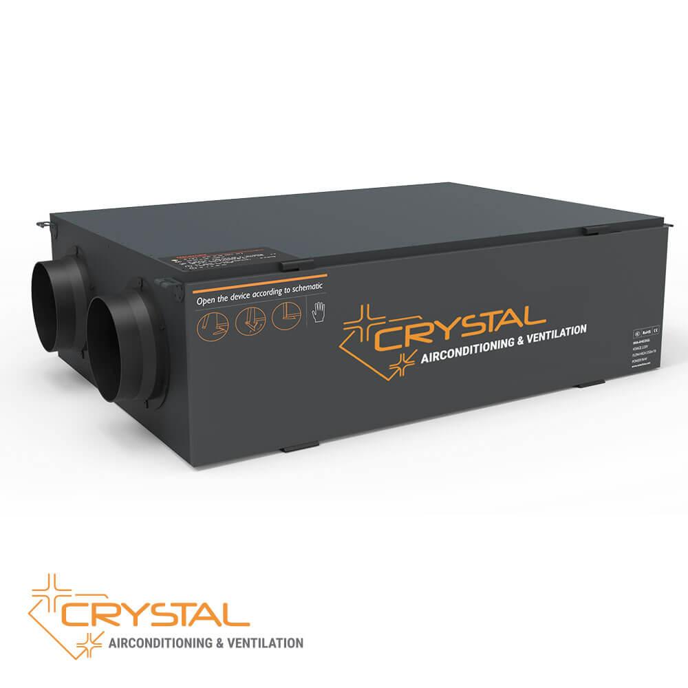 Рекуператор с японски топлообменник Crystal ECO 2000 - 1