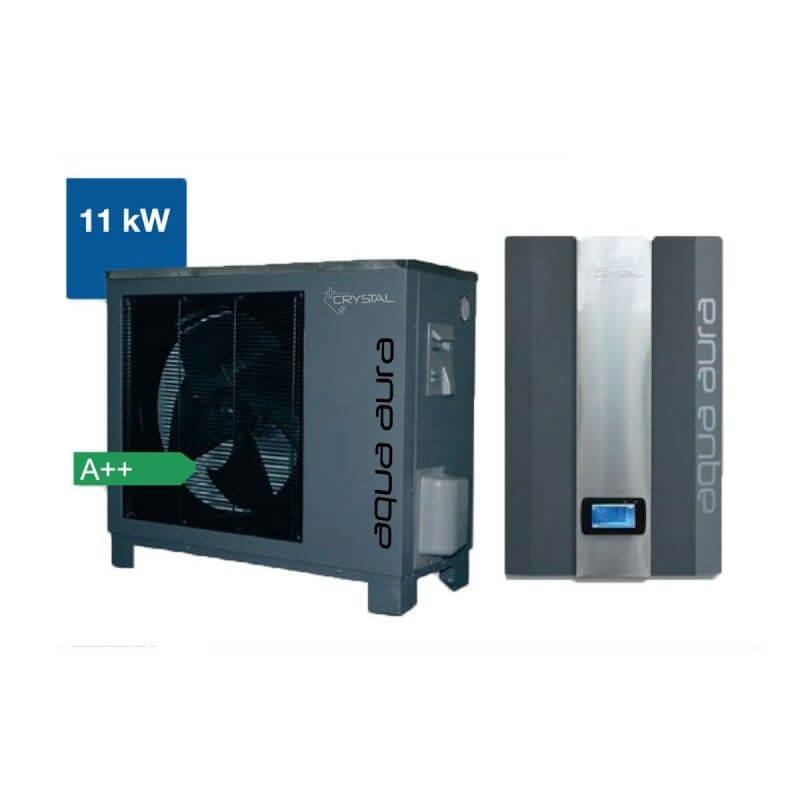 Инверторна термопомпа въздух-вода Crystal - Aqua Aura 11 kW - 10