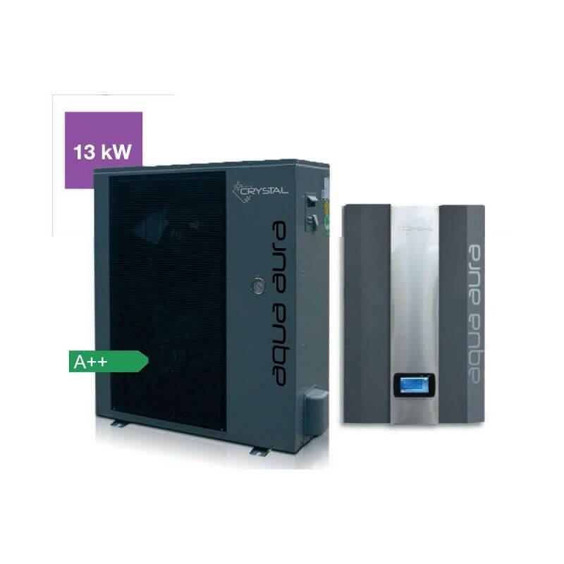 Инверторна термопомпа въздух-вода Crystal - Aqua Aura 13 kW - 10
