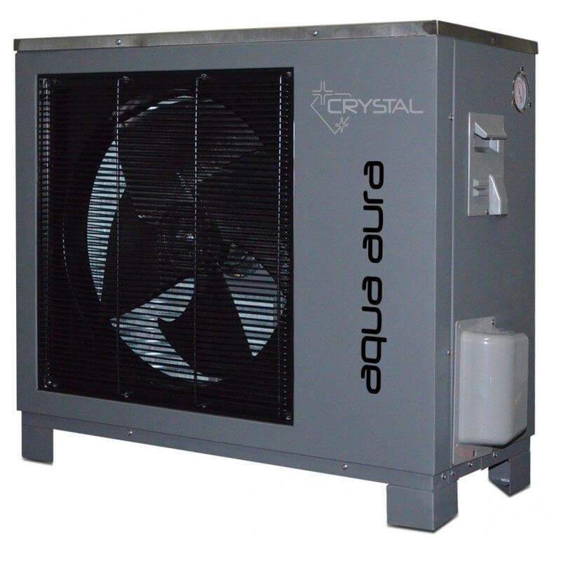 Инверторна термопомпа въздух-вода Crystal - Aqua Aura 9 kW - 13