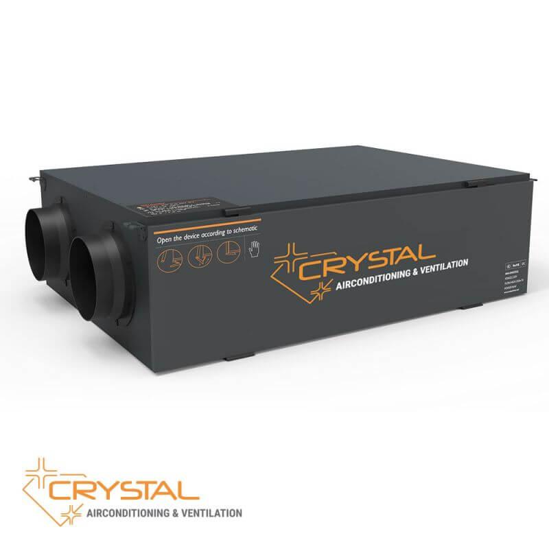 Рекуператор с японски топлообменник Crystal ECO 2000 - 10
