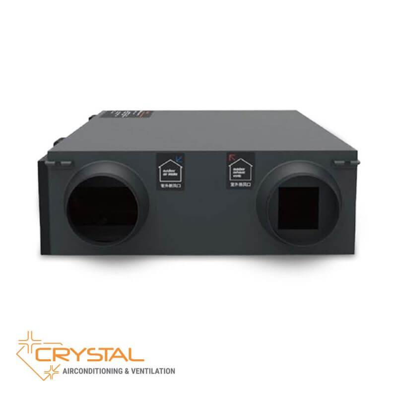 Рекуператор с японски топлообменник Crystal ECO 2000 - 12