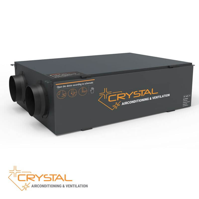 Рекуператор с японски топлообменник Crystal ECO 800