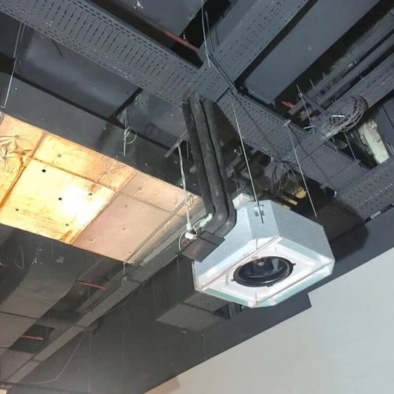Централна климатизация и вентилация за Билла - Park Center Sofia - 13