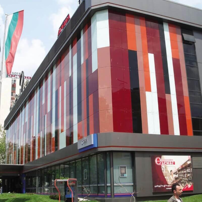 Централна вентилация и климатизация на търговски център Centrall Mall Pleven и банков клон на ОББ - 11