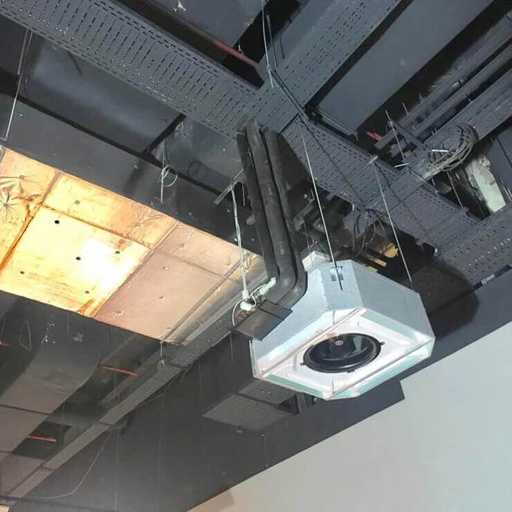 Централна климатизация и вентилация за Билла - Park Center Sofia - 4