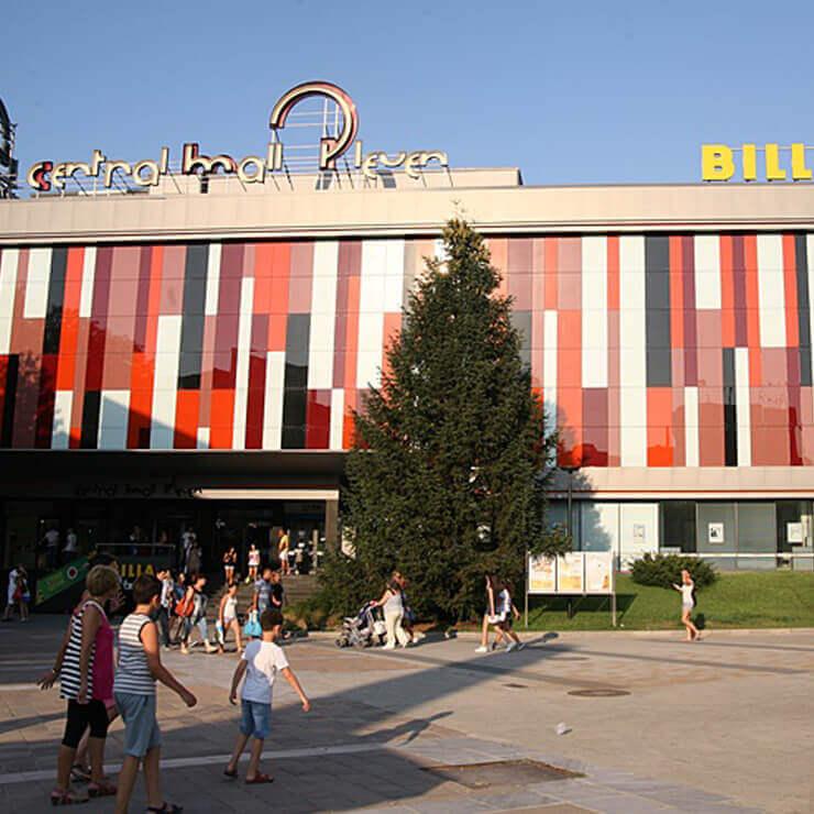 Централна вентилация и климатизация на търговски център Centrall Mall Pleven и банков клон на ОББ - 1