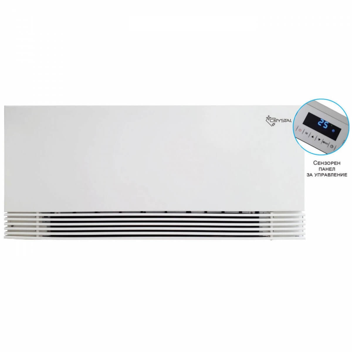 Вентилаторен конвектор Crystal BGR-600 L/R - 1