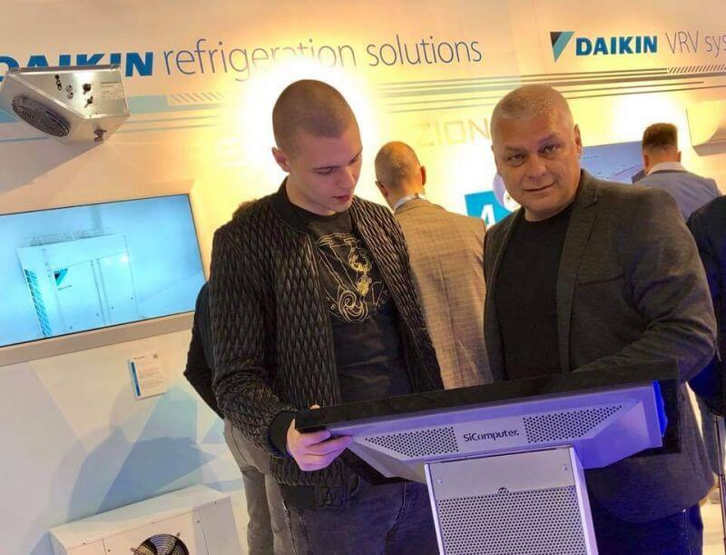 ПОЛЮС-ТМ с успешни нови партньорства на изложение в Милано - p14